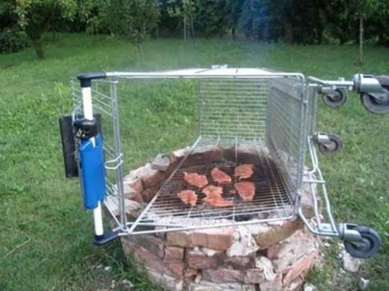 les grilles de barbecue les plus insolites - blog de raviday