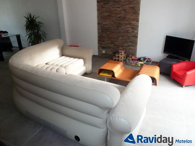 nous avons test le canap gonflable intex blog de raviday. Black Bedroom Furniture Sets. Home Design Ideas