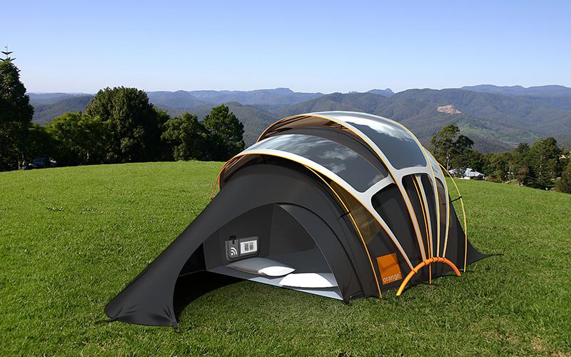 toile de tente moderne