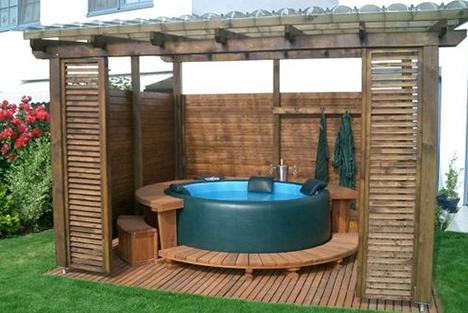 structure bois pour spa gonflable lp48 jornalagora. Black Bedroom Furniture Sets. Home Design Ideas