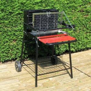 Barbecue à cuisson verticale Raymond