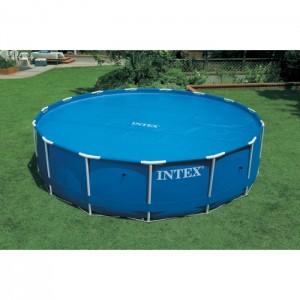 Bâche à bulles pour piscines rondes INTEX