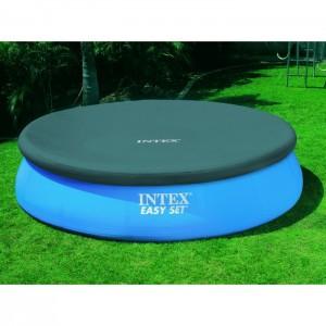Bâche pour piscine autoportée ronde INTEX 3