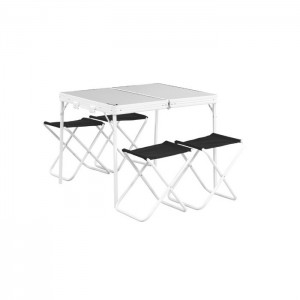 Table de camping avec tabourets Easy Camp Provence
