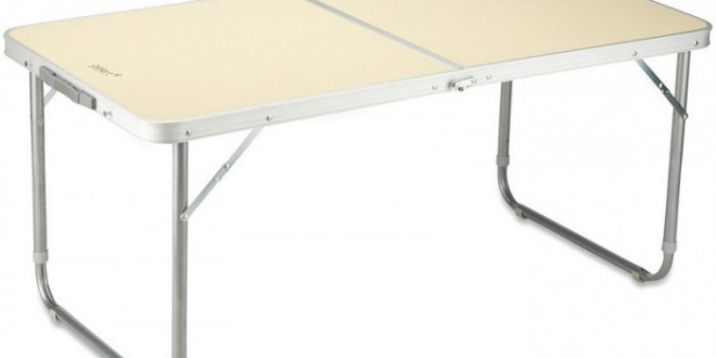 Table pliable Gelert 2 personnes