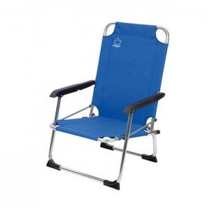 chaise basse de camping Bo Camp Copa Rio bleue, Raviday Camping