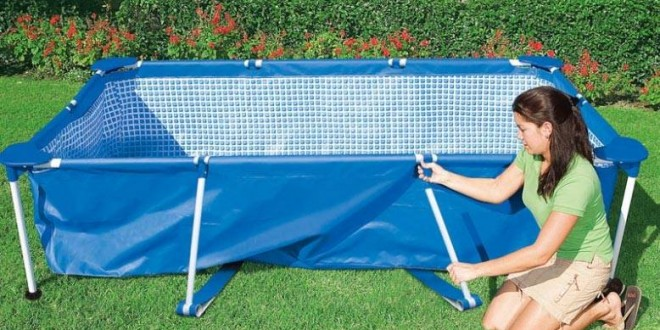 Liner piscine autoport e intex for Liner piscine hors sol tubulaire