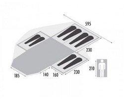 Plan de toile de tente