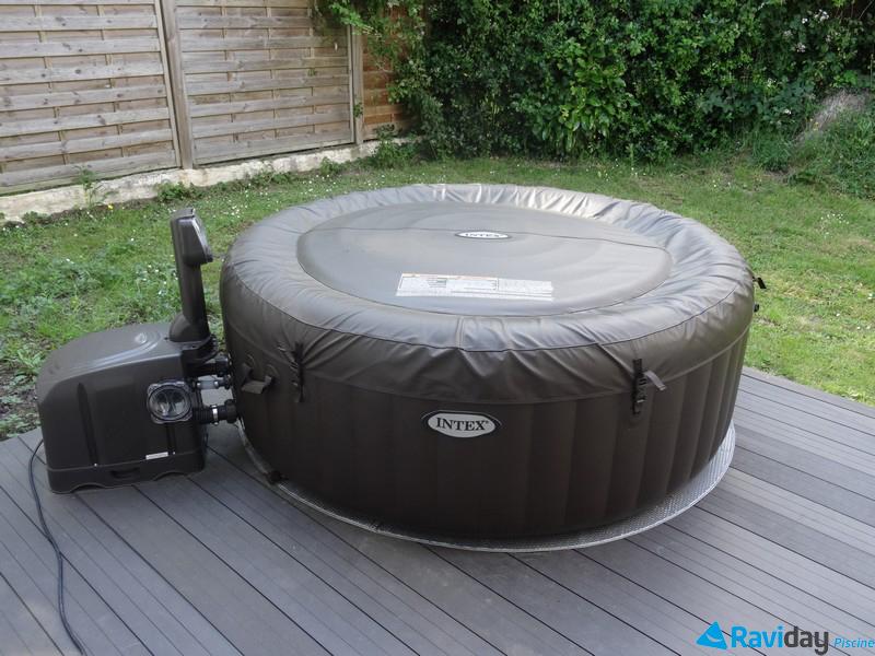 test du spa intex pure spa jets par raviday meilleur spa gonflable jets. Black Bedroom Furniture Sets. Home Design Ideas