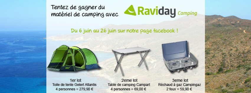 jeu facebook raviday camping
