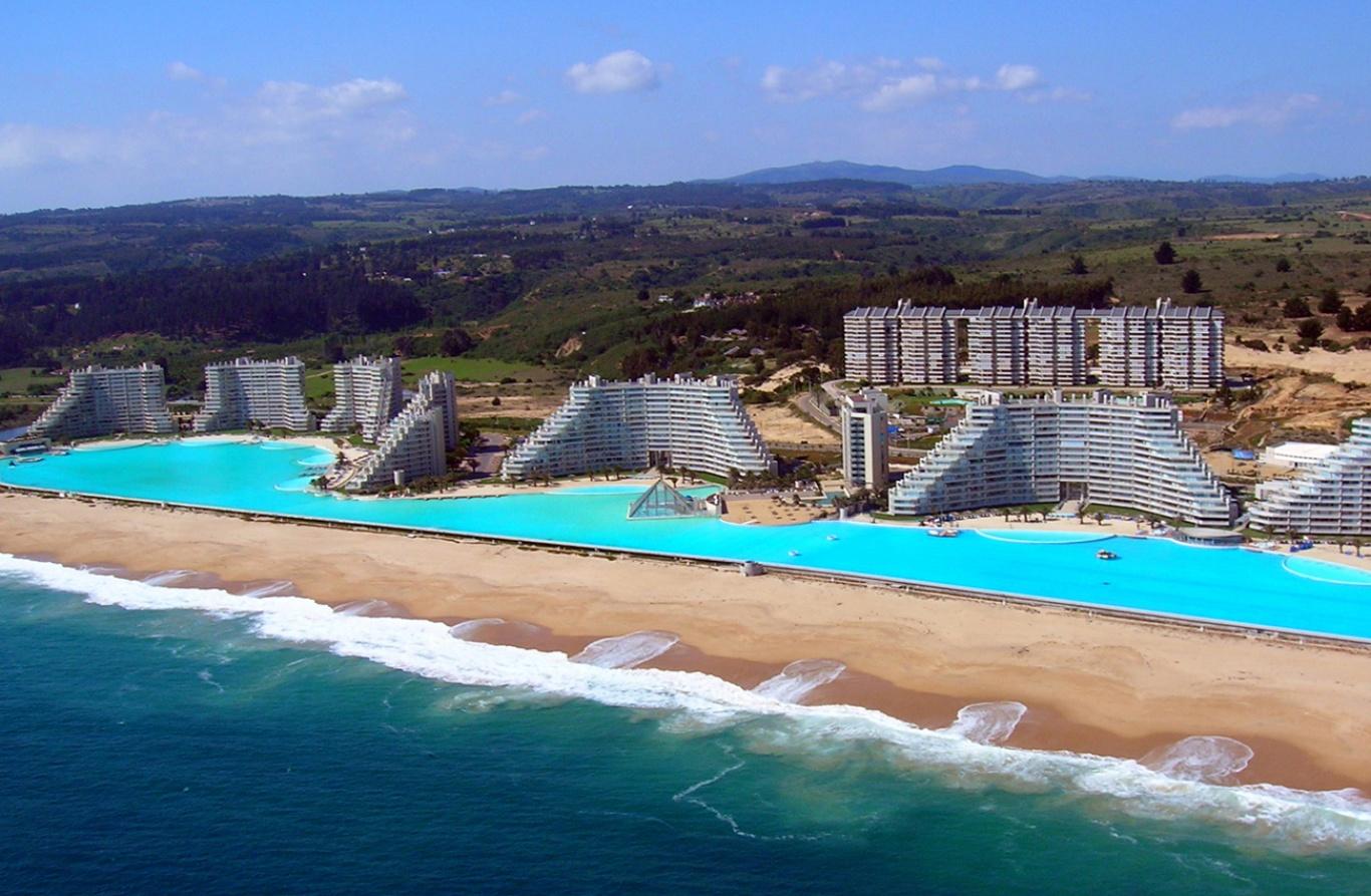 Crystal lagoon la plus grande piscine du monde blog - Grande piscine gonflable ...