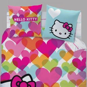 De belles housses de couette pour votre matelas for Housse couette hello kitty