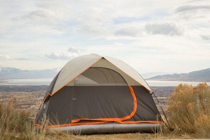 Aesent une tente avec un matelas gonflable int gr blog de raviday - Tente avec matelas integre ...