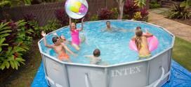 piscine tubulaire intex, piscine hors sol ronde
