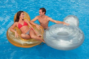 fauteuil de piscine gonflable intex glossy