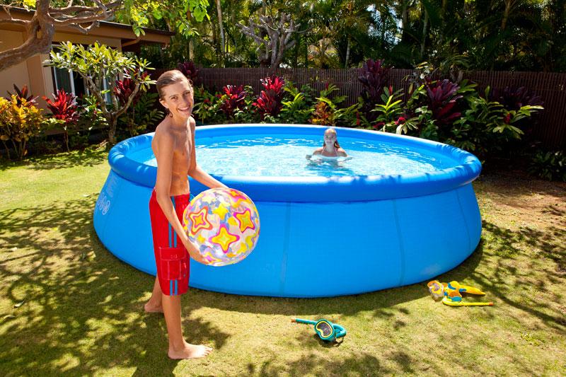 Piscines hors sol intex pr sentation de la gamme - Habillage piscine hors sol intex ...