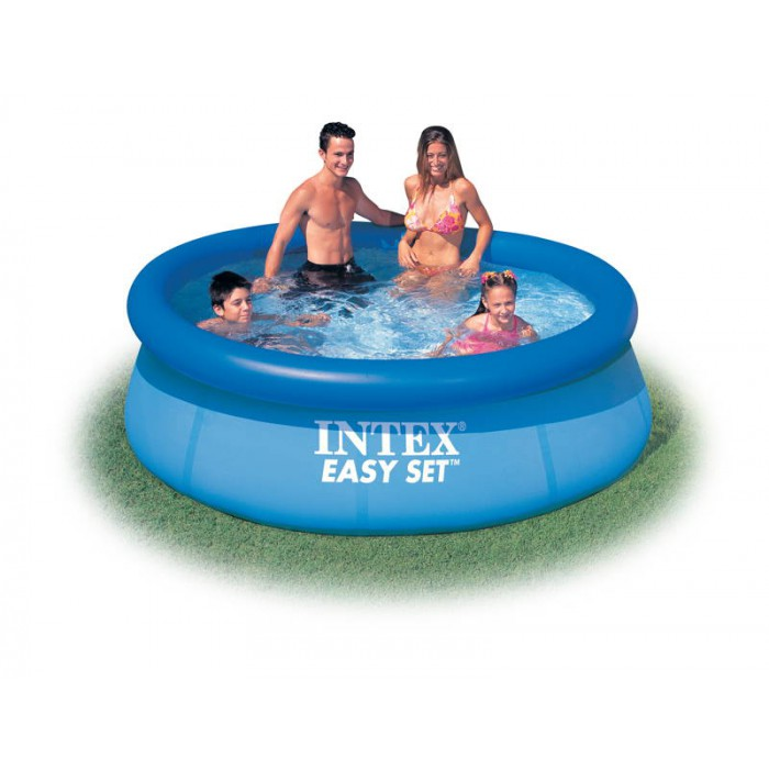 Les piscines hors sol intex tubulaires et autoport es for Piscine portable