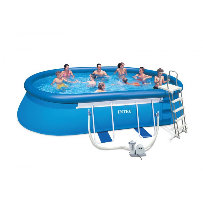 Piscines hors sol intex pr sentation de la gamme for Pompe piscine intex