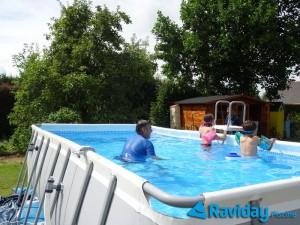 Comment monter une piscine tubulaire montage et installation par raviday - Peut on se baigner pendant la filtration de la piscine ...