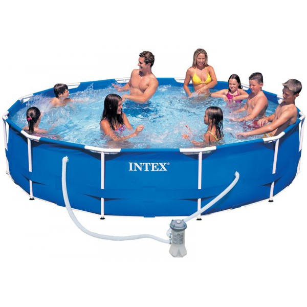 piscines hors sol intex pr sentation de la gamme tubulaire et autoport e. Black Bedroom Furniture Sets. Home Design Ideas
