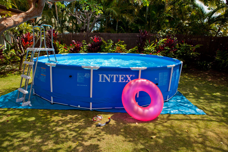Les piscines hors sol intex tubulaires et autoport es for Solde piscine tubulaire intex