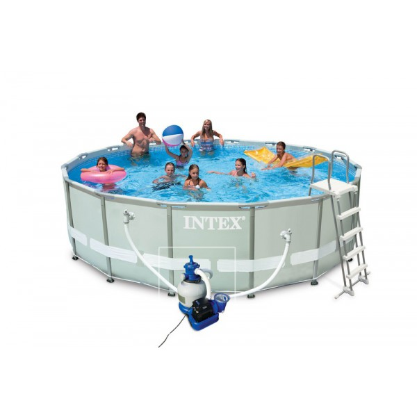 Piscines hors sol intex pr sentation de la gamme for Piscine tubulaire intex 4 57 x 1 22m