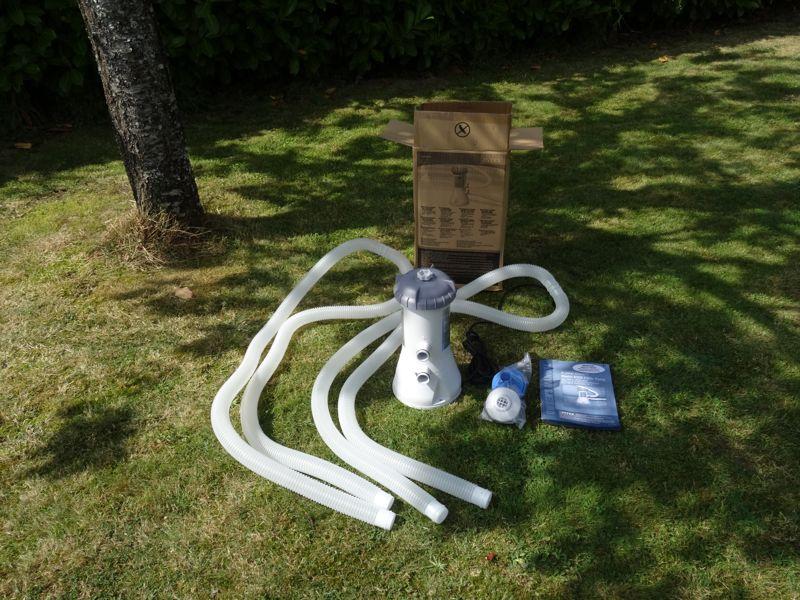 robot piscine intex branchement epurateur
