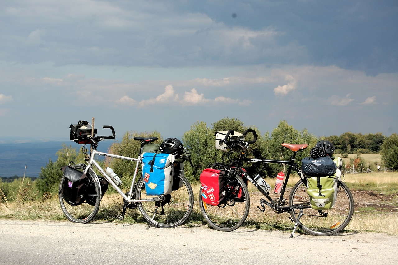 Le matériel essentiel pour une rando vélo