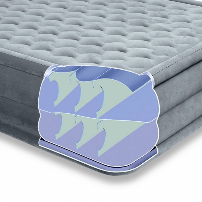 matelas camping tres confortable