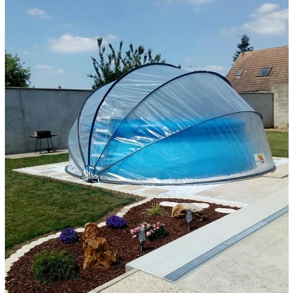 Sunny Tent sur piscine autoportée