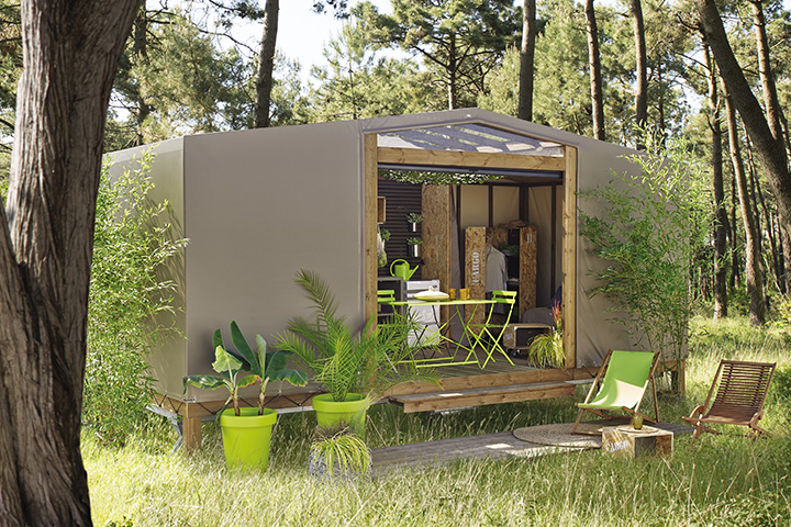 Le maori entre mobil home et toile de tente blog de raviday for Exterieur home