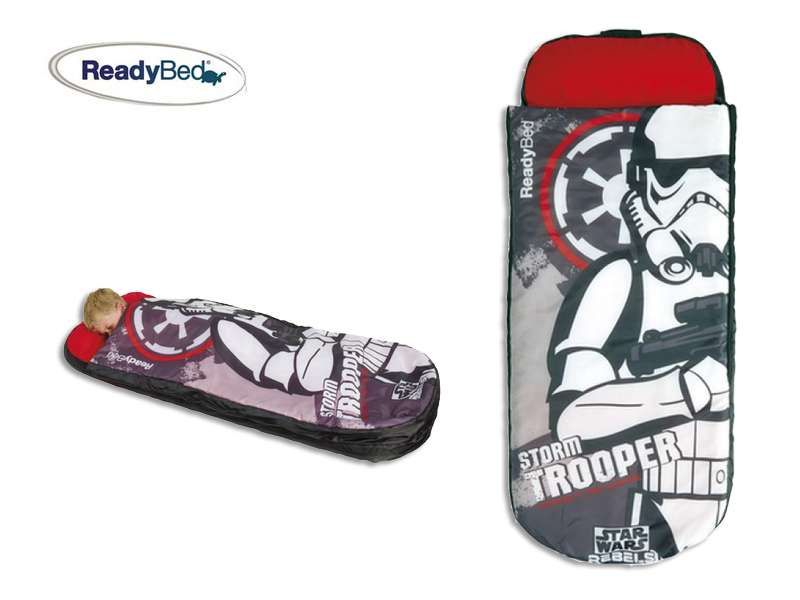 le matelas gonflable star wars pour la sortie de le. Black Bedroom Furniture Sets. Home Design Ideas