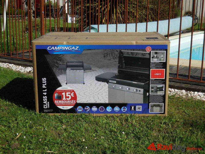Montage du barbecue à gaz Campingaz Class 4L Plus Blog de
