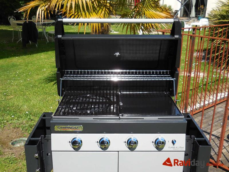 Montage du barbecue gaz campingaz class 4l plus blog de raviday - Barbecue mixte grill plancha a gaz ...