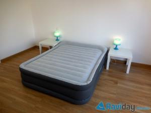 Matelas gonflable électrique Intex Rest Bed Deluxe Fiber Tech 64436