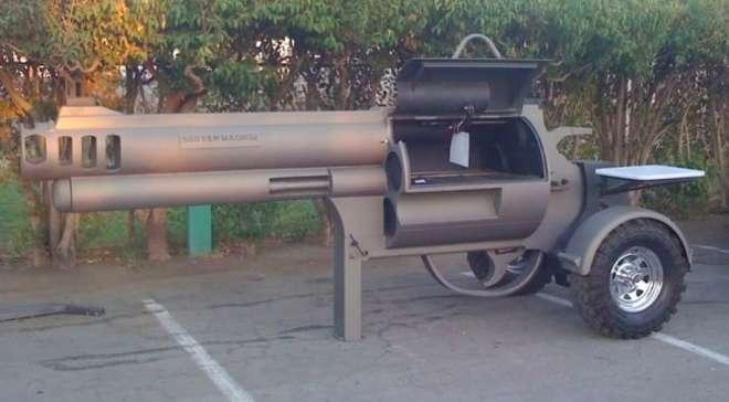 barbecue insolite