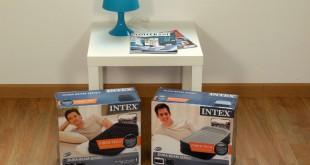 Raviday vous présente les nouveaux matelas gonflables Intex 2016