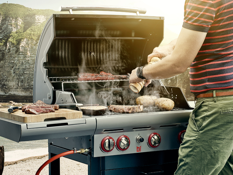 barbecue-a-gaz-barbecook-grillade