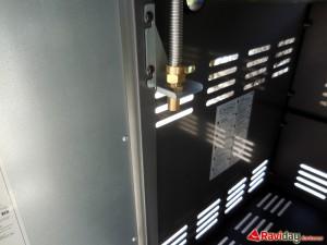 Support du tuyau à gaz sans adaptateur