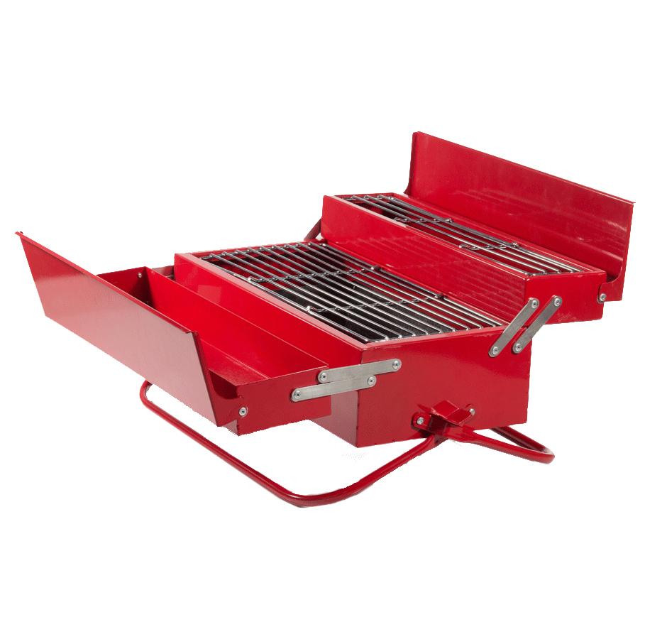 barbecue original en forme de bo te outils blog de raviday. Black Bedroom Furniture Sets. Home Design Ideas