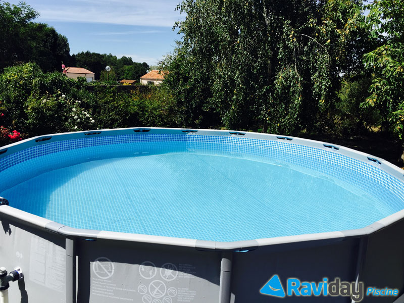 Piscine tubulaire 3 05 maison design for Bache piscine intex 3 05