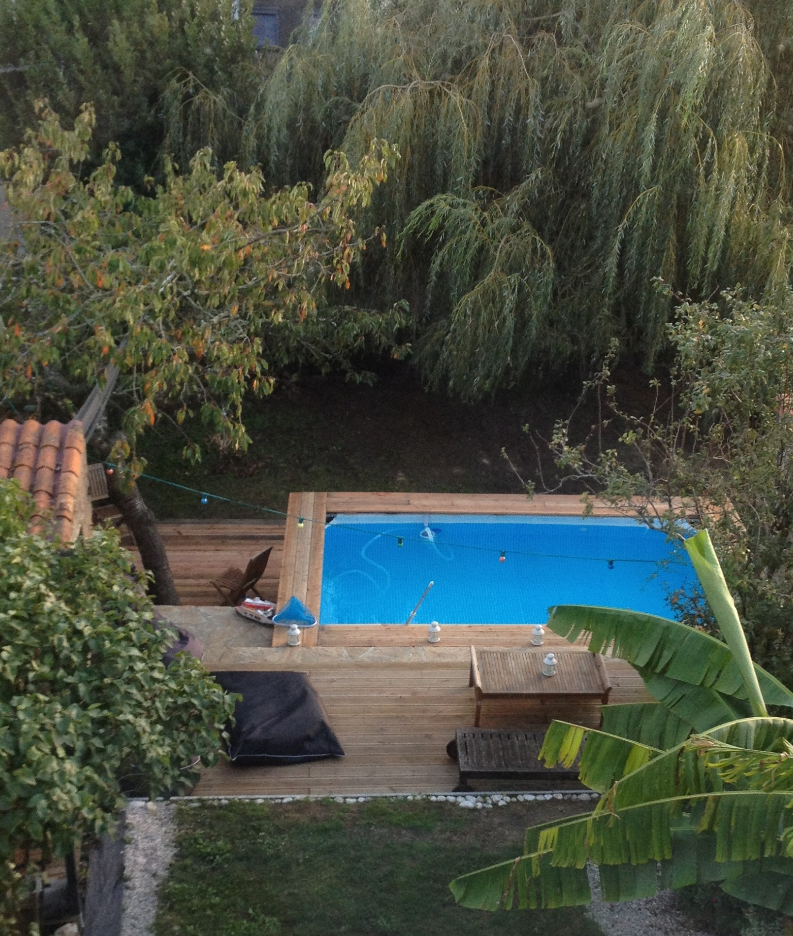 Piscine bois intex for Piscine bois a enterrer