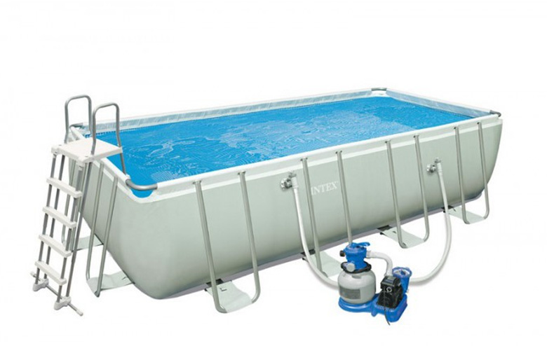 Comment encastrer sa piscine hors sol blog de raviday for Piscine intex silver ultra