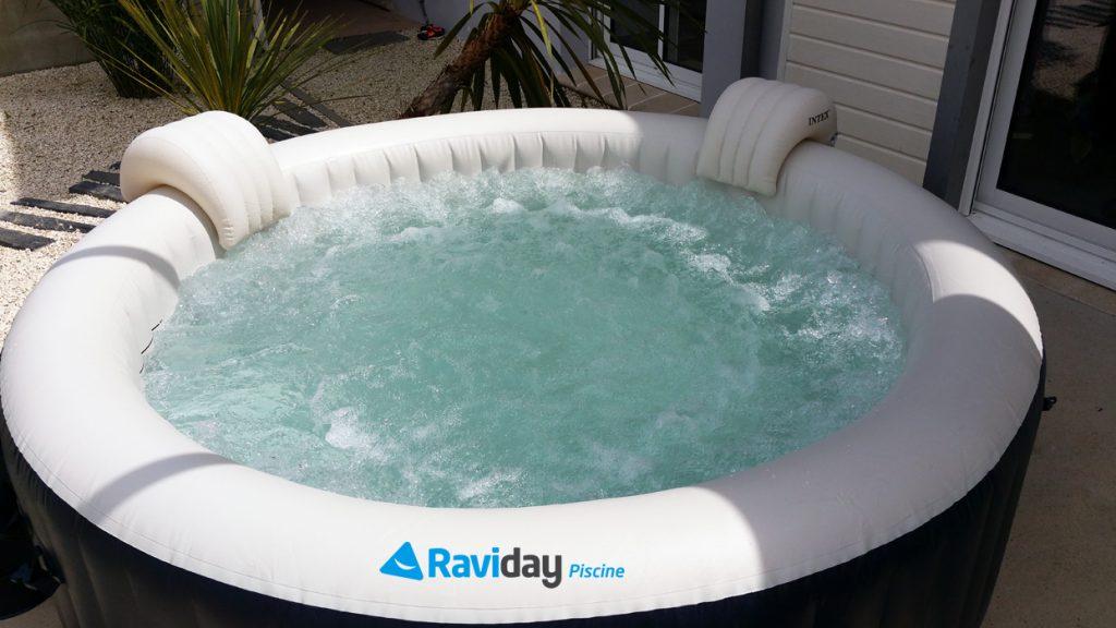 Spa gonflable 6 places intex pure spa plus bulles bleu nuit 28410 - Entretien d un spa gonflable ...