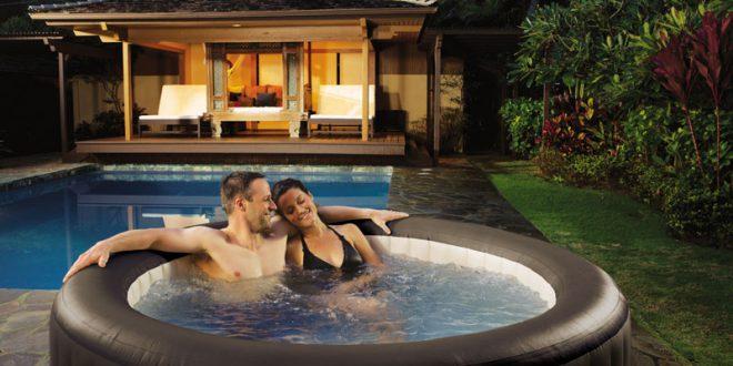comment profiter de son spa gonflable en p riode de fortes chaleurs blog de raviday. Black Bedroom Furniture Sets. Home Design Ideas