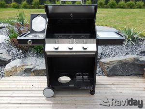 barbecue-a-gaz-3-bruleurs-cadac-meridian-plancha-grill-housse-montage-couvercle-tablettes-ouvertes