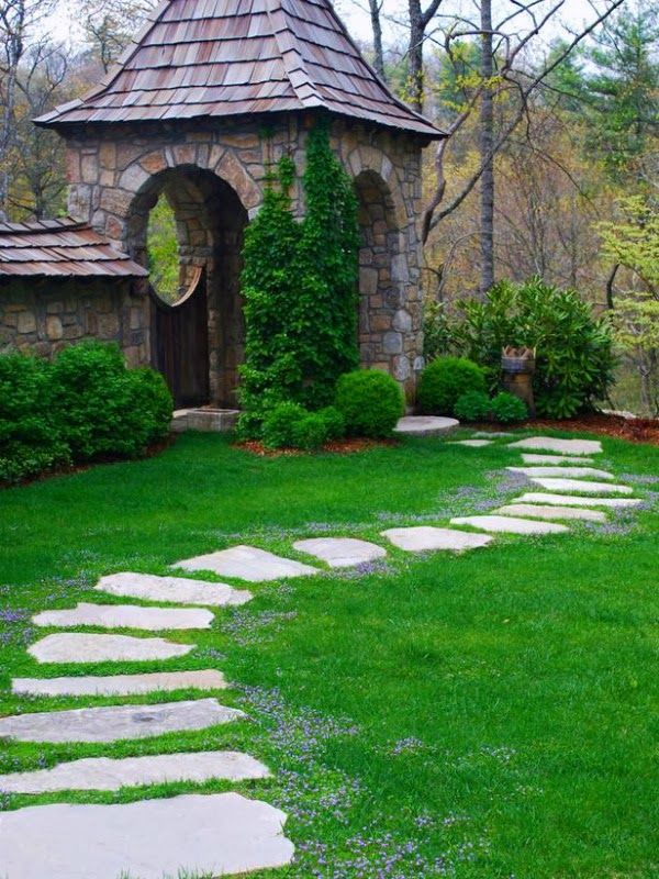 Natural lawn for your garden