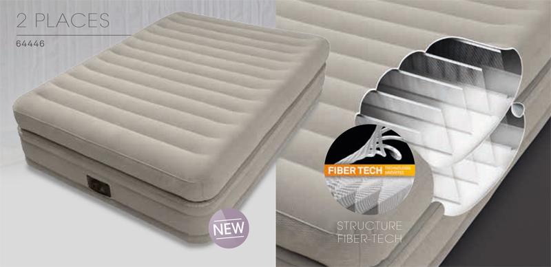 Matelas gonflable Intex Prime Comfort, nouveauté Intex 2017