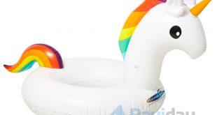 La licorne gonflable de piscine signée Kerlis