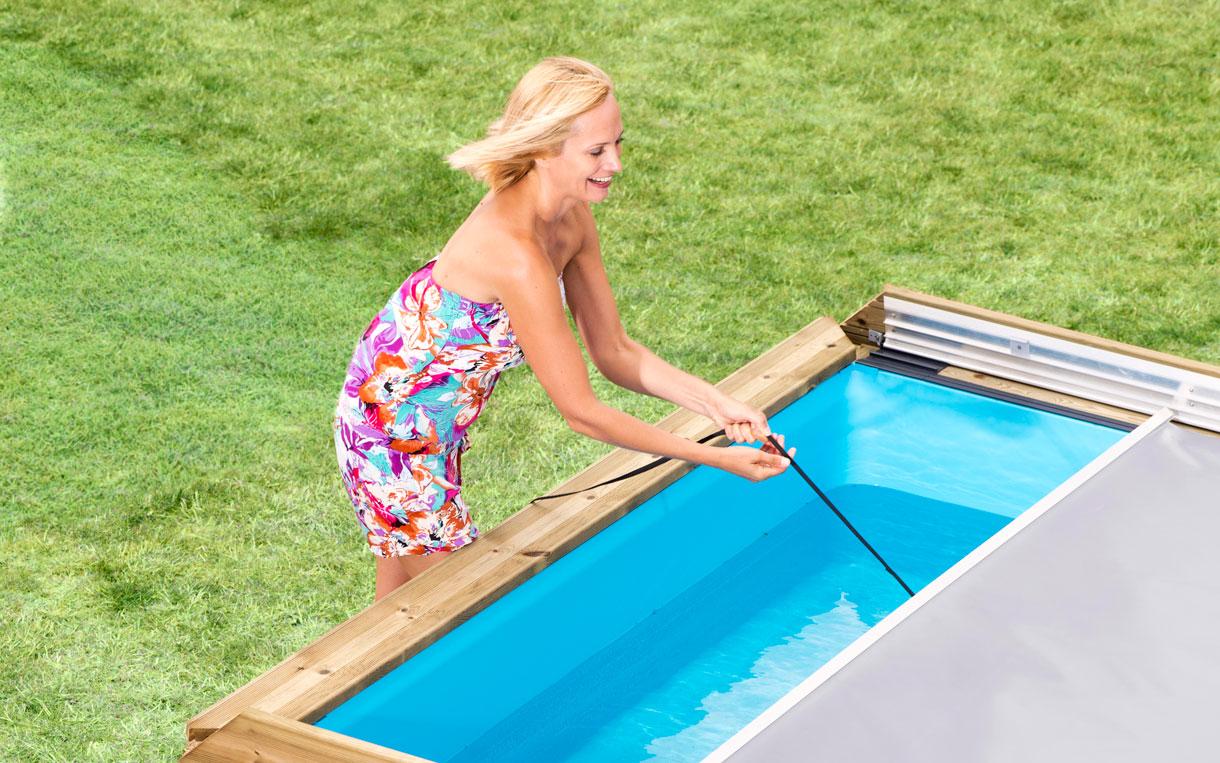 D couvrez la piscine pour enfant pistoche uttra s curis e for Piscine en bois pour enfant
